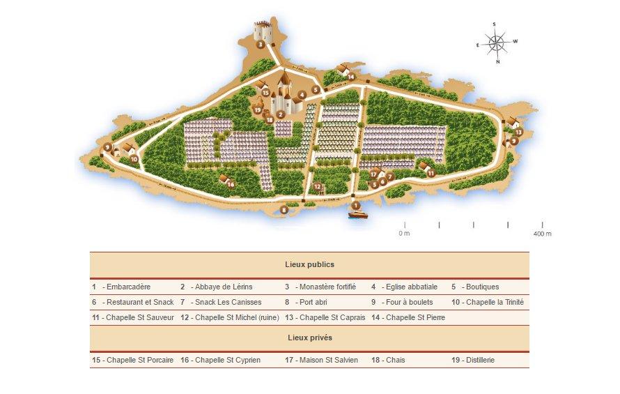 Carte Général Saint Honorat
